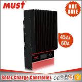 60A 12V/24V/36V/48V Chargeur solaire MPPT Controller
