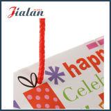Sacchetti del regalo del documento di marchio stampati abitudine dell'imballaggio del regalo di compleanno dei commerci all'ingrosso