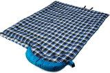 Для использования вне помещений зимой толстые фланелевая спальный мешок водонепроницаемая ткань с подушкой