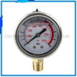 2inches Vibration-Proofオイルの詰物の圧力計