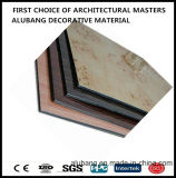 l'ACP du PE de 4mm/PVDF couvre le constructeur de /China des panneaux composés en aluminium