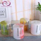 Velas quadradas personalizadas das velas Scented da coluna da fragrância do presente de casamento do projeto
