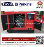 Lovolセリウムの承認20170912bの160kw/200kVA無声ディーゼル発電機への24kw/30kVA