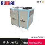Высоким емкость охлаженная воздухом охладителя 16.9kw/5ton Effeciency 6HP охлаждая 14530kcal/H для охладителя поля пищевой промышленности промышленного