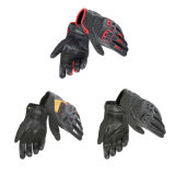 Желтый мотоцикл кожаный перчаток высокого качества участвуя в гонке перчатки (MAG90)
