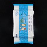 Superficie brillante plástico 80 PCS las toallitas húmedas de la bolsa de embalaje