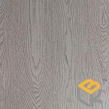 Papel impregnado melamina decorativa del grano de madera de roble para la puerta o muebles del fabricante chino