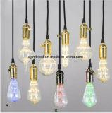 Decoração clara lâmpadas fluorescentes leb ST64