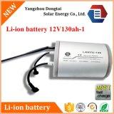 12V 130ah Solarlithium Li-Ionnachladbare Batterie mit PCM