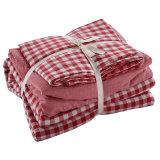 Крышка Duvet дома цены проверки хлопка спальни дешевая