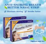 Parche nasal/tiras nasales con efecto de la física para Anti-Snoring