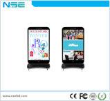 P4mm HD des Fußboden-Standplatz-LED Plakat Handelsbekanntmachendes Bildschirm-LED