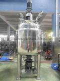 Schoonheidsmiddel/Vloeistof/Room/Chemisch product die Mengt Tank met Homogenisator emulgeren