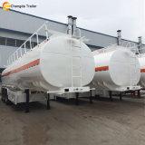 45000 liter 50000 van de Tanker van de Afmetingen van de Brandstof Liter van de Aanhangwagen van de Tank