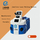 Machine van het Lassen van de Laser van de Vlek YAG van Sanhe 200With300W van Dongguan de Draagbare voor Gouden/Zilver/Roestvrij staal