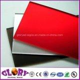 Folha acrílica plástica transparente do molde PMMA do plexiglás para o indicador ao ar livre