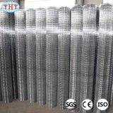 Rete metallica saldata galvanizzata Rolls con il foro quadrato