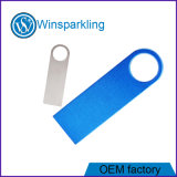 Freies Firmenzeichen-Silber-Gold-USB-Flash-Speicher-Feder-Laufwerk