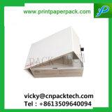 Boîte de carton pliable personnalisés à l'Emballage Emballage cadeau cosmétique à haute capacité