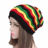 Beanie шлема нашивок цветастой причудливый радуги Mens женщин Unisex связанный Slouchy (HW130)