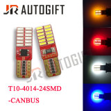 Birnen T10 4014 des Auto-LED 24 SMD Canbus Abstand-Licht