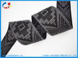 Courroie personnalisée de sangle de jacquard de polyester de configuration de logo pour le sac à dos