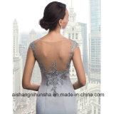 Spitze Appliques elegantes formales Kleid-Nixe-Hochzeits-Kleid