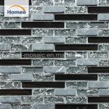 Mosaico di vetro lucido di nuovo di disegno di vendita Crackle caldo del ghiaccio