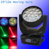 단계를 위한 19X12W 기운 LED 급상승 세척 이동하는 맨 위 빛