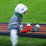 最新のペットアクセサリの冬のクリスマスのニット犬のスカーフ