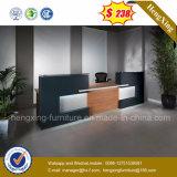 Un mobilier moderne salon de beauté petit comptoir de réception Balck (HX-6D014)