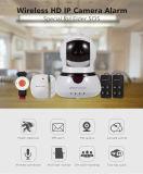 Sistema de Alarme de WiFi 2.4G Home Office Casa Sem Fios do Sistema de Alarme de Segurança Ios Android Câmara IP de Controle do Detector de Movimentos PIR