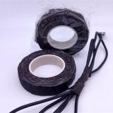 Tela de reforço preta 150 GR do algodão da fita de isolamento