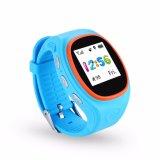 GPS die van het jonge geitje Telefoon Smartwatch volgt