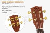 24 Zoll-Konzert-Ohrschnecke, die allen festen MahagoniUkulele bindet