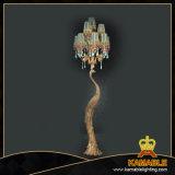 Fantastische dekorative Messingfußboden-Lampe (FLORIDA-6011-6+3+1)