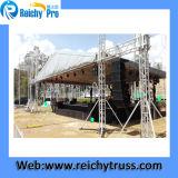 Профессиональное изготовление большой алюминиевой складывая ферменной конструкции этапа