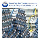 400G/M2 Pijp van het Staal van de Deklaag van het zink de Galvaniserende