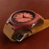 남자를 위한 나무로 되는 시계 일본 운동 시계 OEM 시계