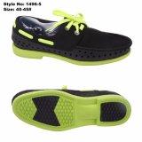 安い耐久の軽いエヴァの偶然靴は人の靴をひもで締める