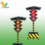 L'Autoroute de la route des feux de circulation temporaire de l'énergie solaire