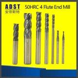 HRC50 Molens van het Eind van het carbide de Vierkante voor CNC Machine