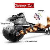 Plancha de cabello Rizador profesional vapor electrónico equilibrio pelo moldeador