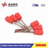 A extremidade de carboneto de Slot T Triturador para fresar metais