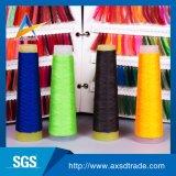 Hilo para obras de punto teñido droga 100% del hilado de los hilados de polyester de DTY