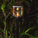Illuminazione esterna colorata solare dell'indicatore luminoso del giardino dell'indicatore luminoso del prato inglese