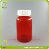 400mlペット赤いプラスチック薬のカプセルのびん