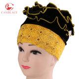 Turban africain Headwrap Hijab de velours de femmes