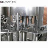 Automatische Flaschen-Wasser-waschende füllende mit einer Kappe bedeckende beschriftenverpackungs-durchbrennenmaschine