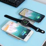 Großhandelsdrahtlose Aufladeeinheit der universalitäts-3in1 für iPhone Qi-drahtlose Aufladeeinheits-schnelle drahtlose Aufladeeinheit für Apple-Uhr-drahtlose schnelle Tischplattenaufladeeinheit für Smartphone